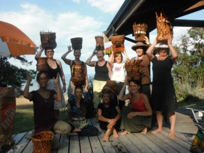 Lasqueti Island Basket Workshop