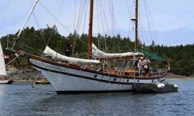 Lasqueti Yacht Club Sail Past June 2019