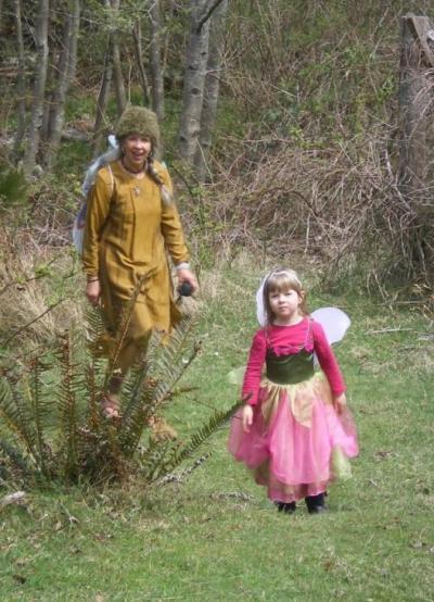 Sally And  Darzo, Fairy-Sisterfriends