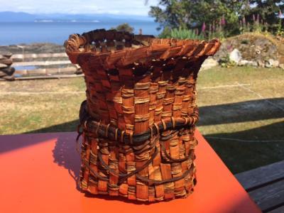 Bull Kelp & Red Cedar Basket