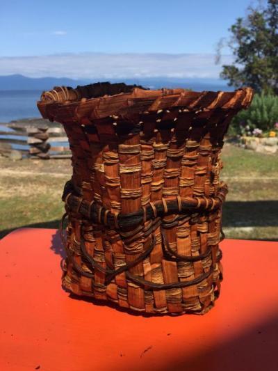 Cedar Utensil Basket