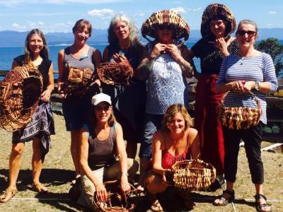 Cedar Root Gathering Basket Workshop