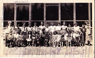 Chas Williams School about 1953