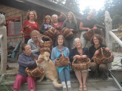 Baskets From The Recent  Gathering Basket Workshop