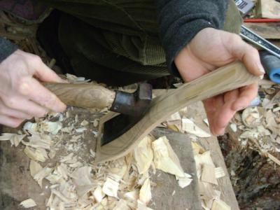 Carving a Ladle