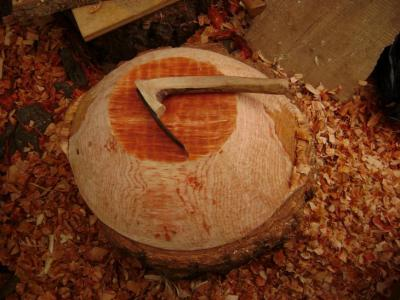 Carving the Outside of Bowl