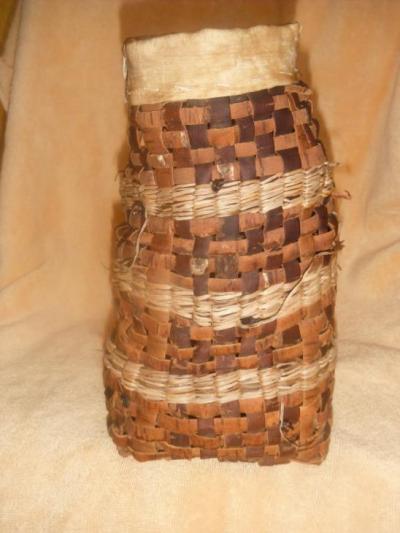 One of Dazy's baskets
