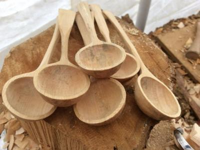 Hand carved Tea spoons