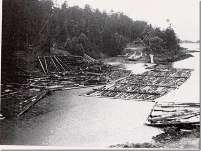 Tucker Bay Ramp and Float picture,1953