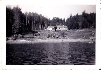 Laing House at Mud Bay, about 1954