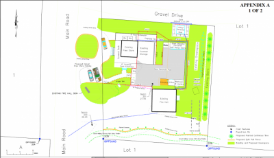 Plans for the upgrades to the free store and recycling centre