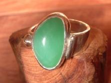 Mint Jellybean Ring