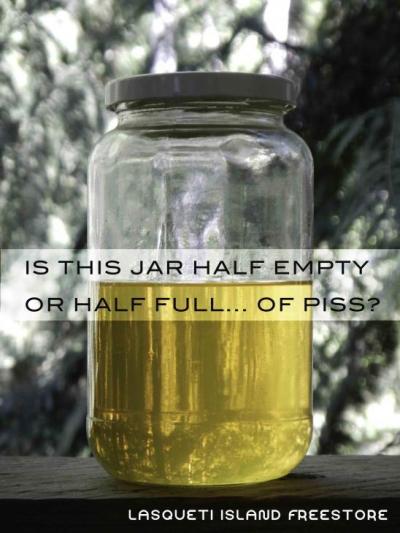 Jar of Urine?