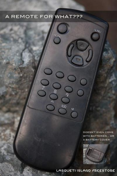 The useless remote