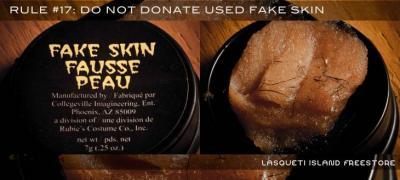 Fake skin anyone??