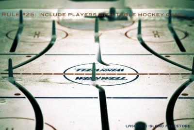 Hockey Table in need of some players