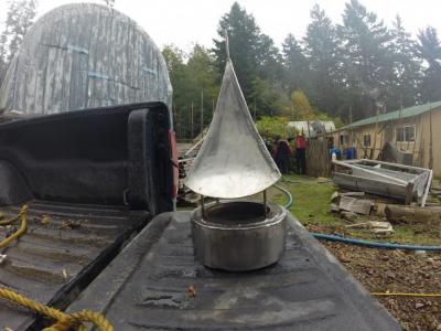 Gretje's chimney cap